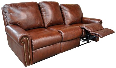 reclining furniture fairmont leather sofa leather