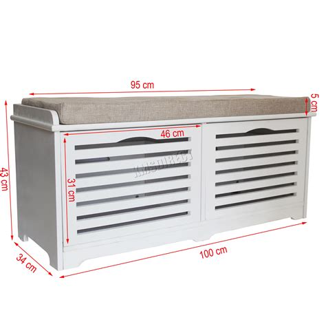 storage bench with padded seat foxhunter shoe storage bench with drawers padded seat
