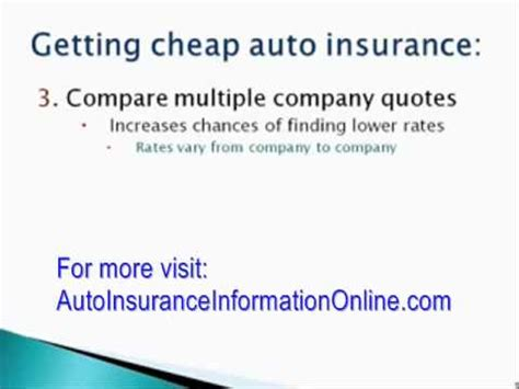 Cheap Auto Insurance Rates by Cheapest Auto Insurance Rates How To Get The Best Deal