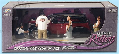 Hommies Figure Diorama Diecast Wheels Wolfe homie rollerz assorted by toys 1 24 scale diecast model car wholesale 58008tg