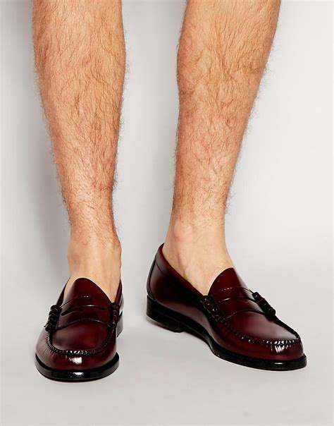 gh bass loafers uk lyst g h bass co gh bass larson loafers in