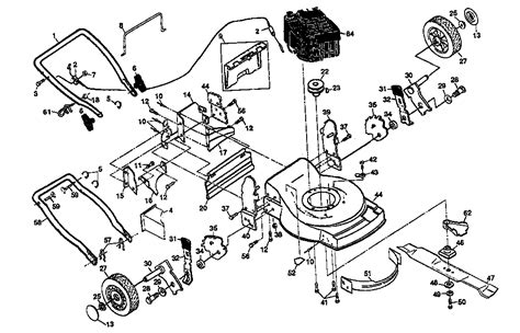 craftsman self propelled lawn mower parts diagram schematic of sears craftsman mower schematic free