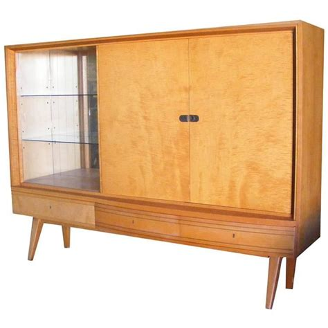 vintage german mid century cabinet german shrunk  stdibs