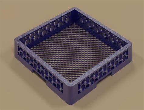 Flat Dish Rack by Revitcity Object Flat Dish Rack