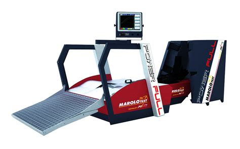 marolotest banc de test powerfull bloc roue automatique