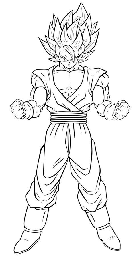 Goku Coloring Pages - coloringsuite.com
