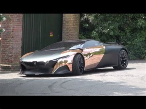 peugeot onyx price peugeot onyx driving goodwood fos youtube