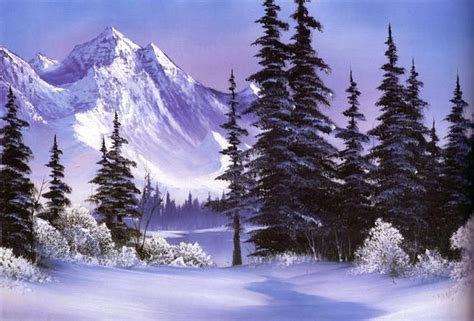what is bob ross painting the of writing about the of painting literary hub