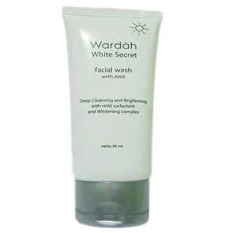Pencuci Muka Wardah White Secret 10 produk wardah untuk memutihkan wajah terbaik