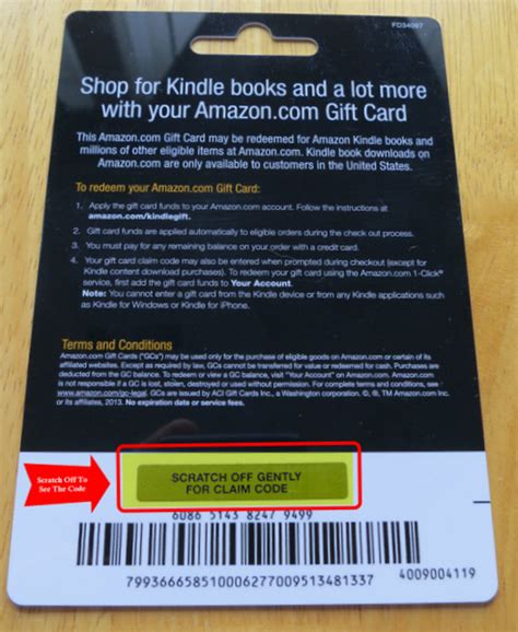 Kindle Redeem Gift Card - image gallery kindle gift card codes