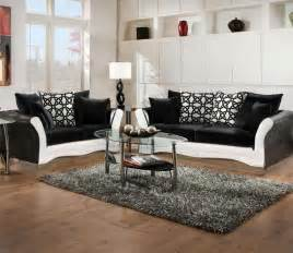 wohnzimmer set black and white living room sets artofdomaining