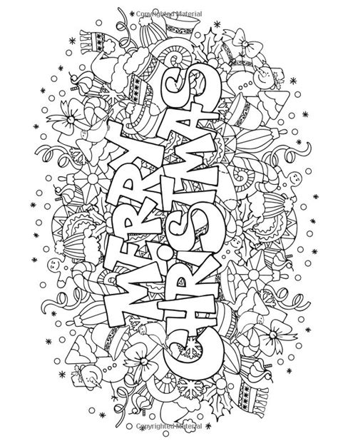 christmas adult coloring pages to invigorate in coloring