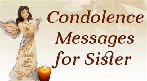 words of comfort for loss of sister sympathy quotes for a sister quotesgram