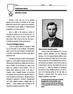 abraham lincoln biography questions 1000 images about u s history chapter 15 on pinterest