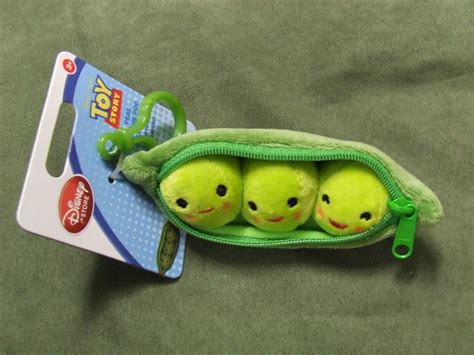Toys Story Peas Small free keychain disneys story 3 peas in a pod plush brand new dolls stuffed animals