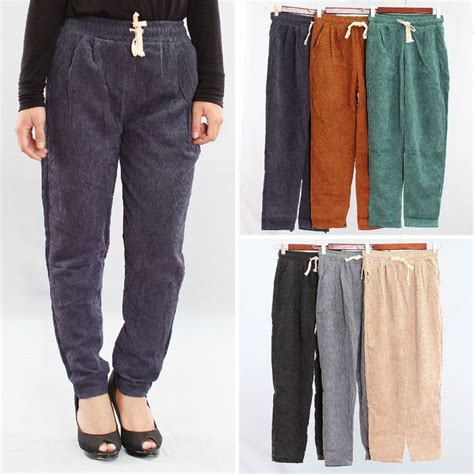 celana kulot variasi kancing lengkapi gaya berbusanamu dengan celana panjang detail