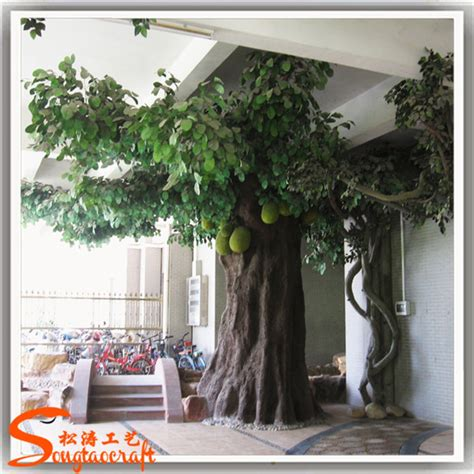 large artificial decorative tree indoor decor tropical