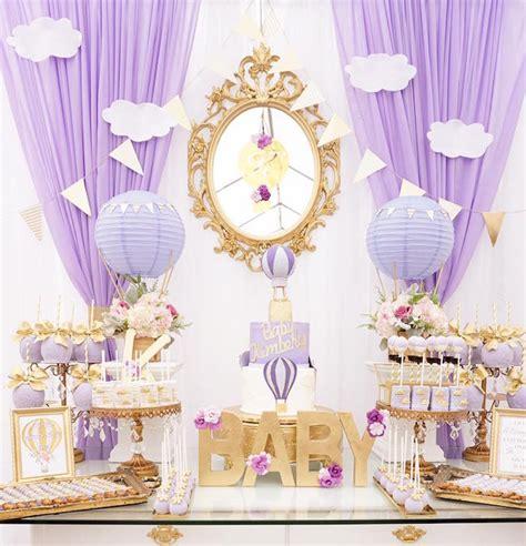 Kara S Party Ideas Purple Gold Hot Air Balloon Baby Air Balloon Bathroom Decor