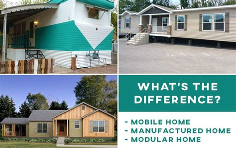 manufactured home mobile home and modular home what is