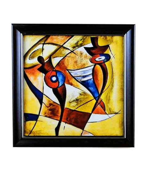 go hooked glass painting with frame buy go hooked glass