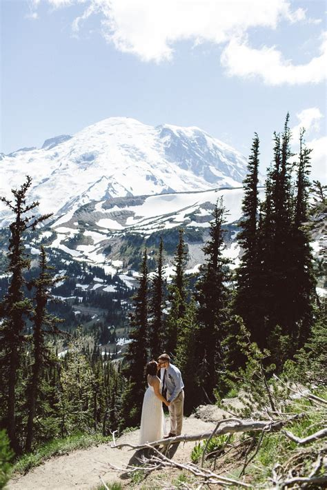 jenny   drew // mt rainier elopement   Favorite Places