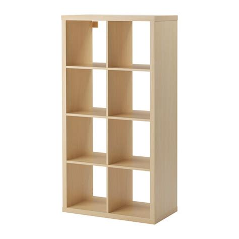 Ikea Storge Kallax Shelving Unit Birch Effect Ikea