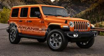 New Jeep Colors 2018 Jeep Wrangler Rendered With Newly Leaked Color Options