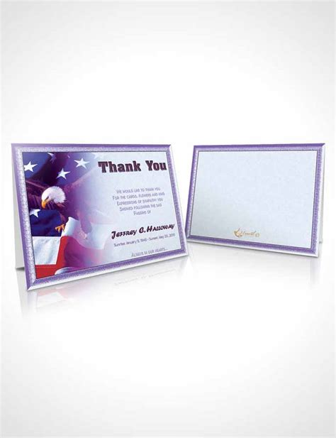 veterans day thank you card templates thank you card template 1st veterans day faith