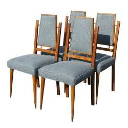 Details about 4 mid century modern italian dining chairs