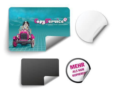 Aufkleber Sticker Drucken by Aufkleber Sticker Etiketten Drucken Copy Service In