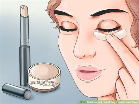 how to get rid of creases in plasic rugs 3 ways to get rid of bags your wikihow
