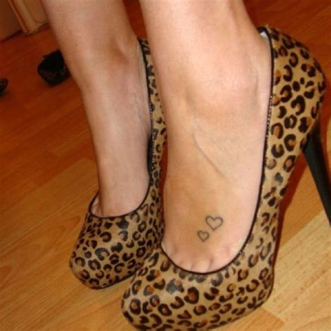 small heart tattoos on foot 28 small ideas for styleoholic