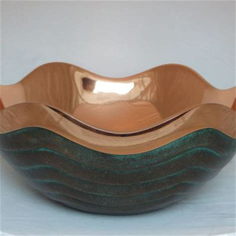 Copper Walls Nambe Copper Canyon Bowl Love This Home Pinterest