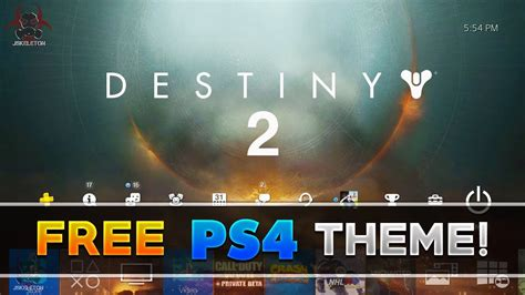 themes ps4 destiny destiny 2 free ps4 dynamic theme how to get this