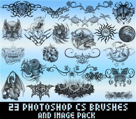 tribal pattern photoshop 1500 free tribal photoshop brushes and tattoo designs