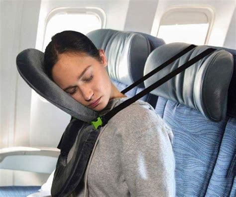 Best Pillow For Airplane by Forget About The Neck New Travel Pillow Will Let You