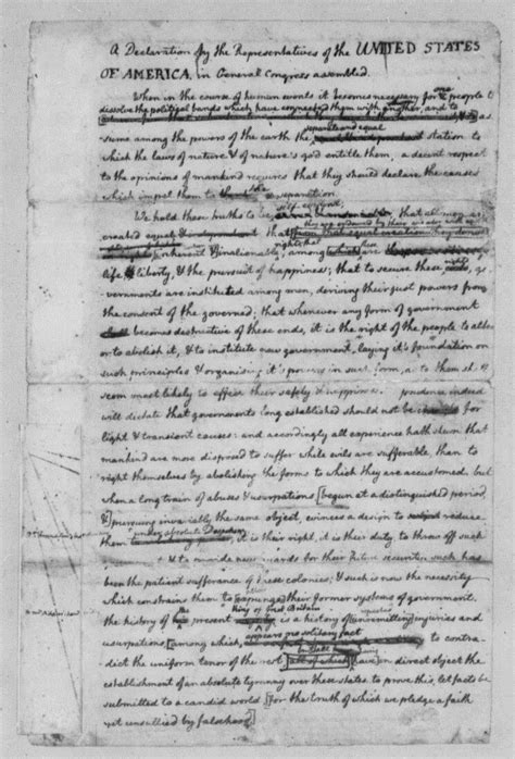 Declaration Essay Definition by Drafting The Declaration Of Independence