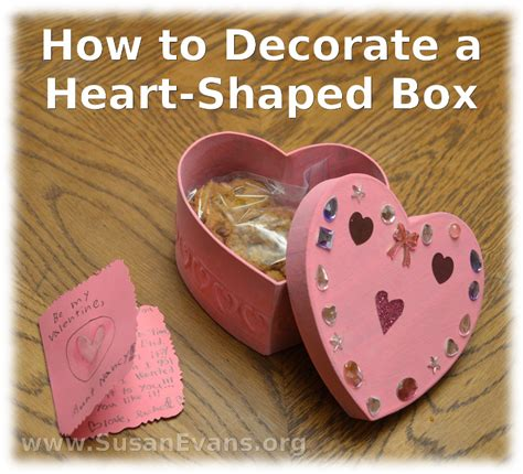 How To Decorate A Box by How To Decorate A Shaped Box Susan S Homeschool