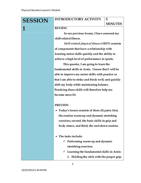 8 adapted mini pe lessons physical education lesson plans for first graders