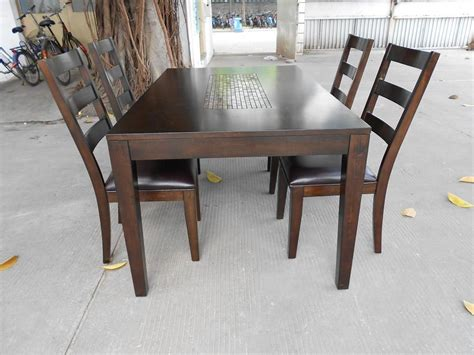 wooden set table wood dining table review homesfeed