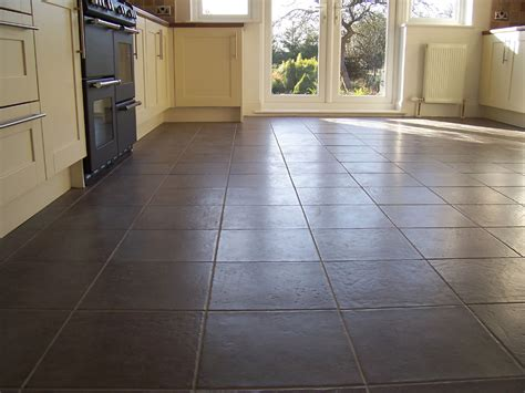 kitchen tile flooring ideas kitchen flooring options to show the appearance