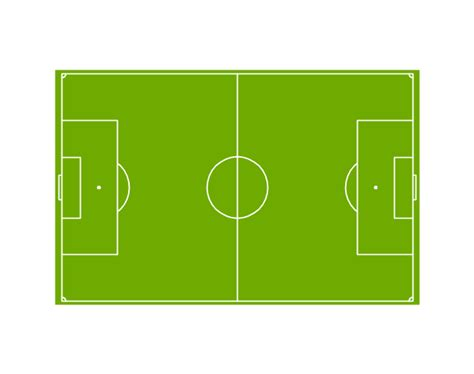 soccer football field templates football vertical