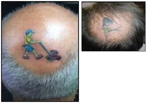 lawnmower tattoo pictures of egg breakfast amusing