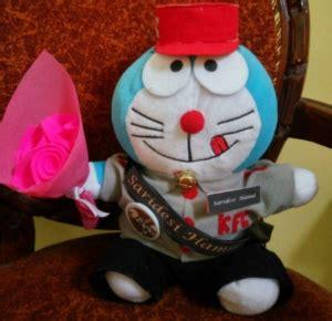 Boneka Wisuda Bandung kado untuk wisudawan boneka wisuda doraemon bandung jual