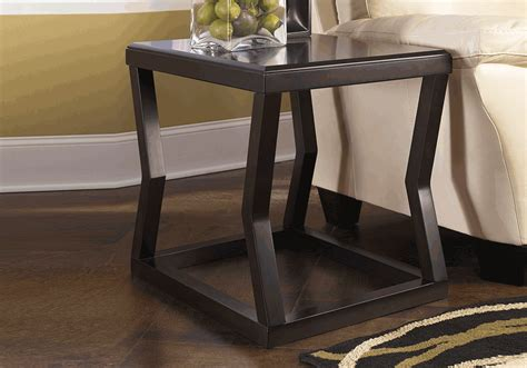 Overstock End Table by Kelton Espresso Rectangular End Table