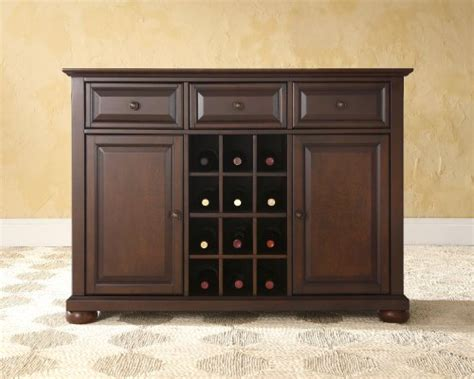 mahogany alexandria buffet server sideboard cabinet with