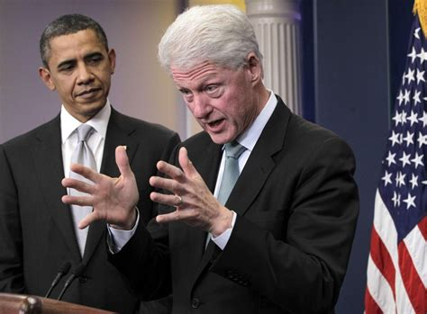 File Barack Obama And Bill Clinton In The Oval Office Jpg   iran nuke deal parallels bill clinton s failed n korea