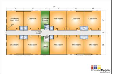 floor plans for classrooms look to ims for modular schools and portable classrooms