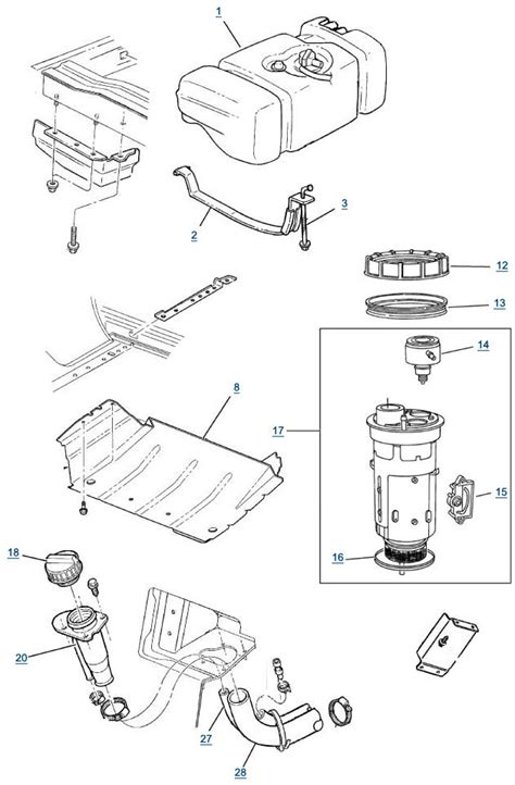 jeep fuel system diagram jeep free engine image