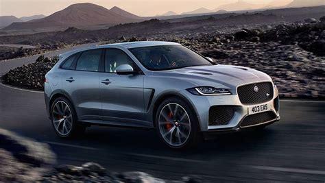 jaguar svr 2019 jaguar f pace svr 2019 revealed in new york car news